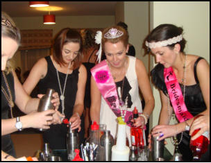 hen party cocktail classes Carlingford