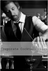 cocktail class for corporate bookings